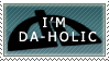 dA-holic stamp by Lauren-hime