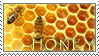 Honey stamp by Lauren-hime