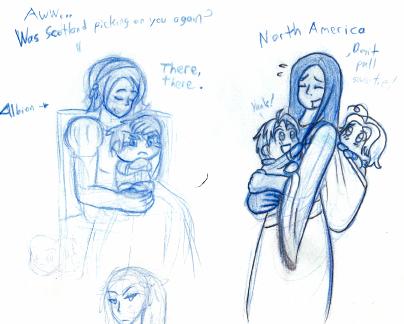Hetalia Moms WIP by angel-half