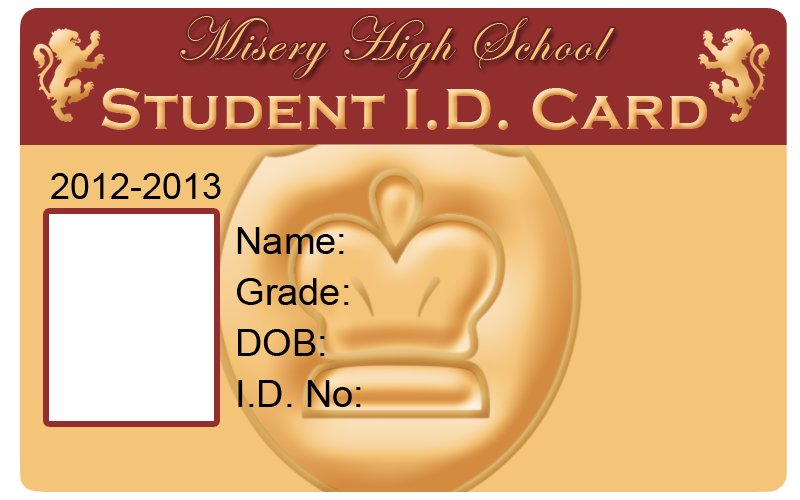 how to make student id card