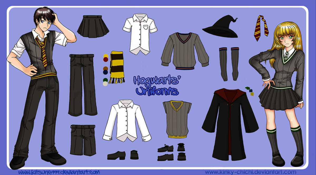 :Hogwarts Uniform: by Hogwarts-Castle
