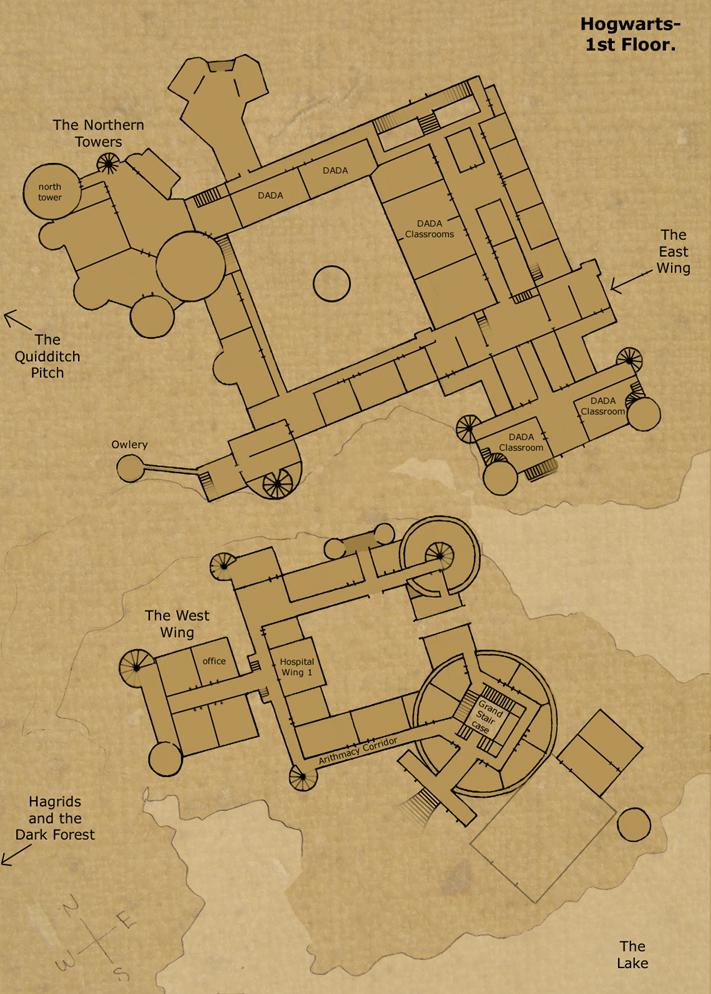 1st floorhogwarts-castle on deviantart