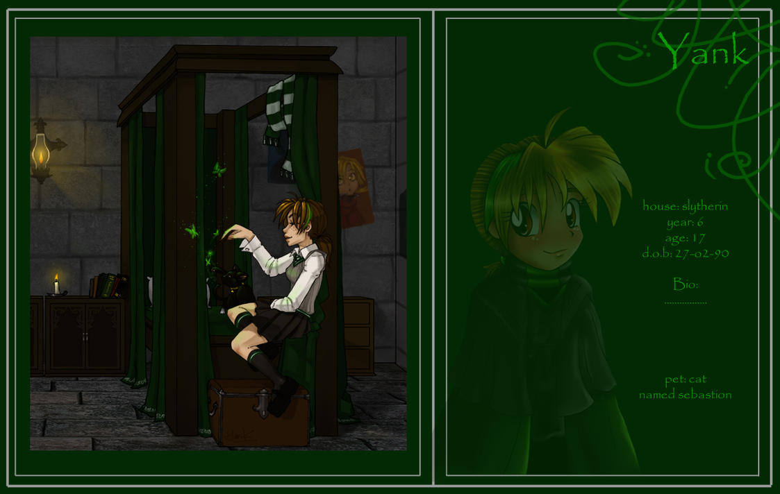 Slytherin Dorm Space 4 by Hogwarts-Castle
