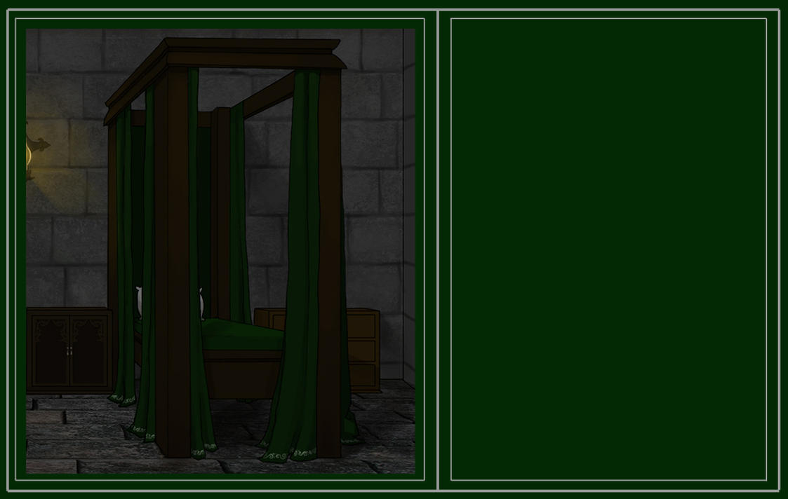 Slytherin Dorm Space 18 by Hogwarts-Castle