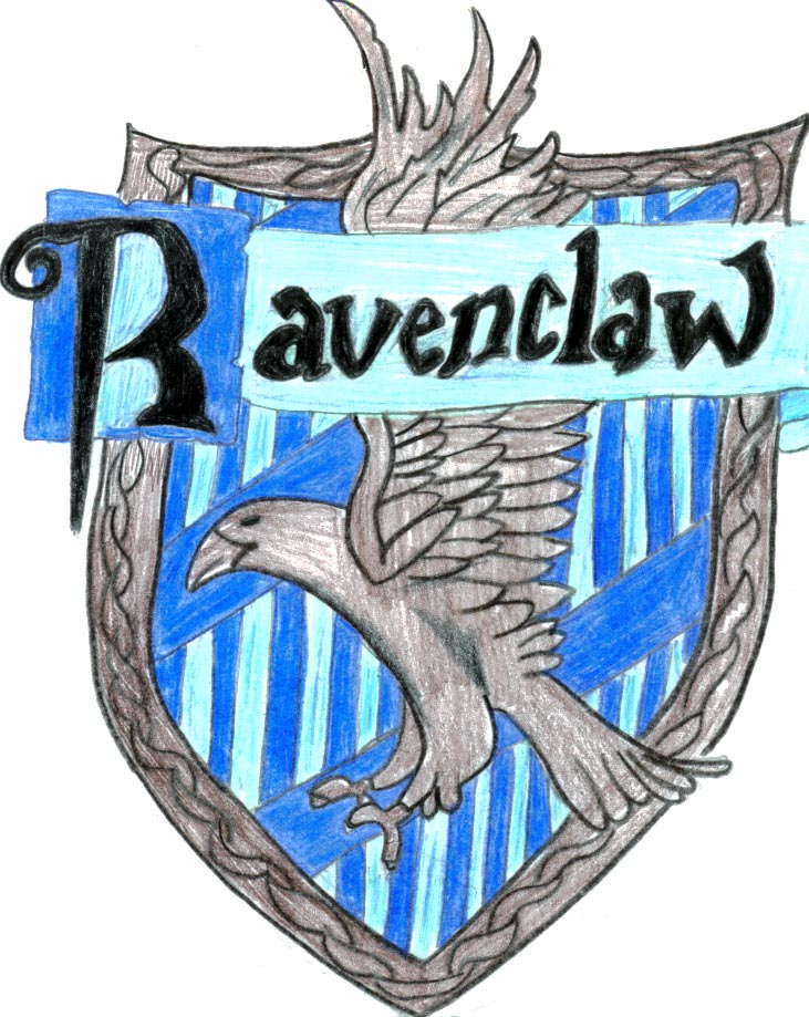 Hufflepuff Crest Coloring Page Harry Potter Ravenclaw House