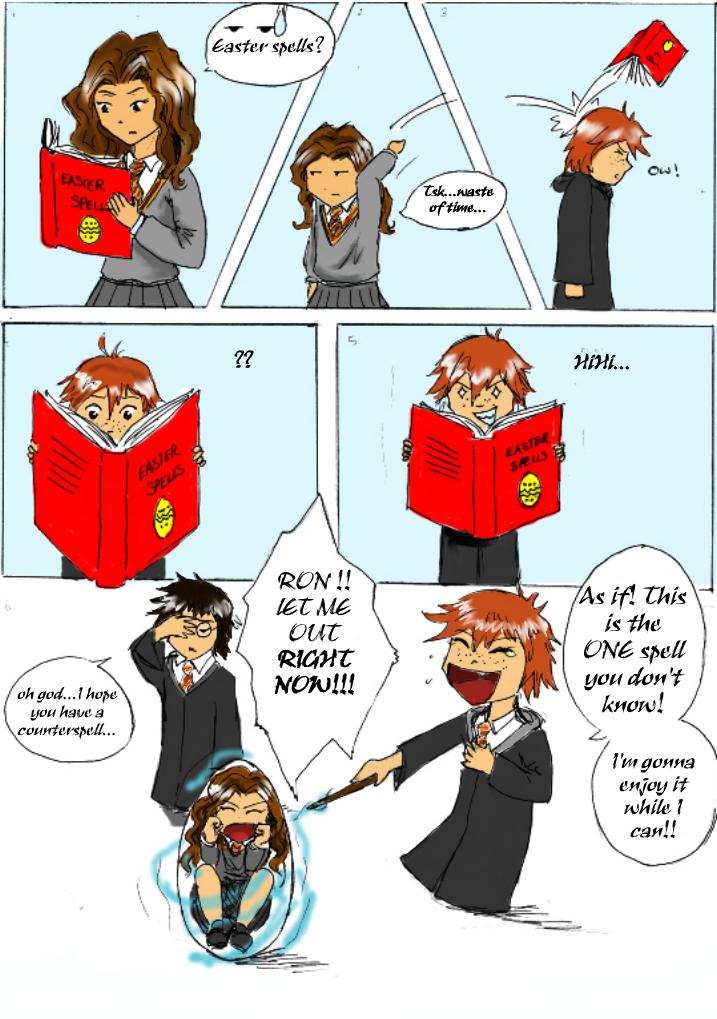 Easter Spell by Raelyyn by Hogwarts-Castle