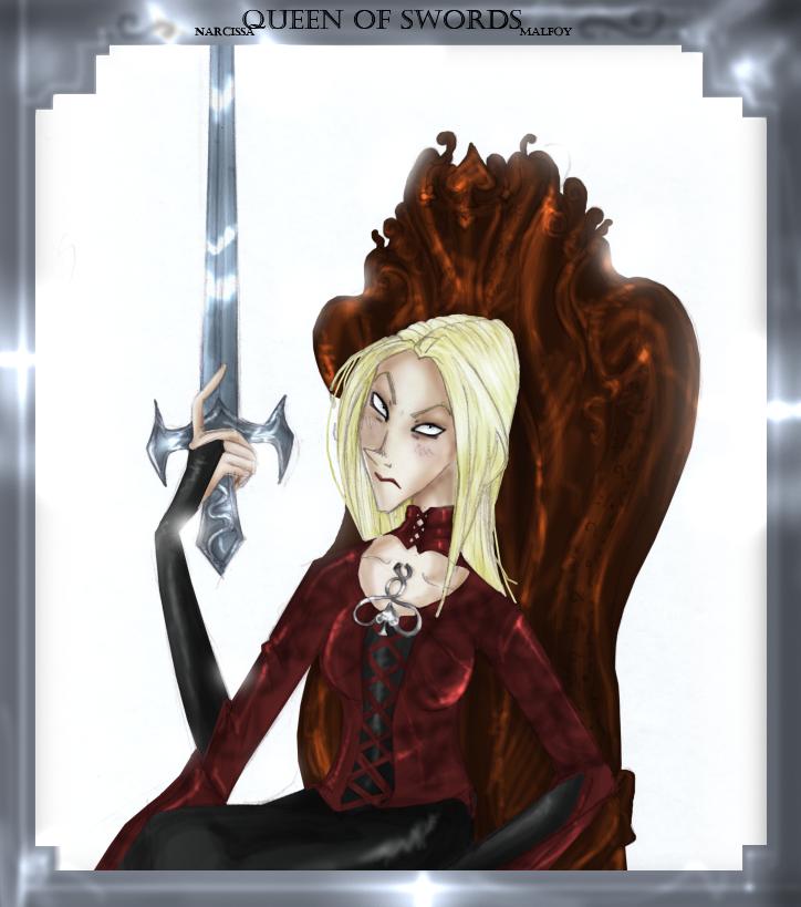 Queen of swords by min-miau by Hogwarts-Castle