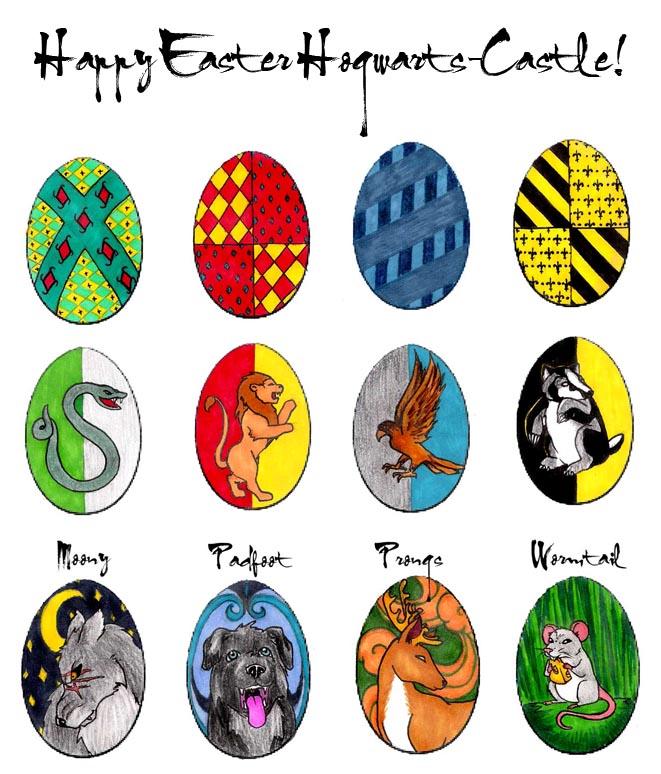 Hogwarts Eggs by Alera by Hogwarts-Castle