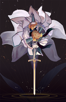 Saber Lily by Pixiescout