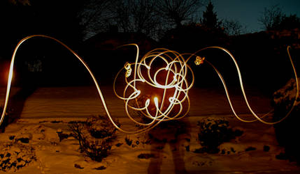 Light painting by Blue-Rhaps0dy