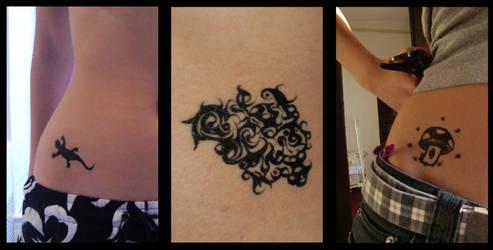 Cuz we all want tattoos by Blue-Rhaps0dy