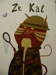 Ze Kat by Blue-Rhaps0dy