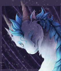 Icy floof by Nihalla