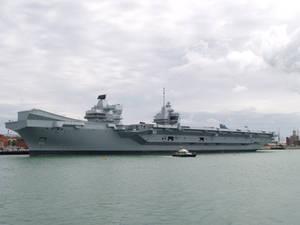 Queen Elizabeth in Portsmouth