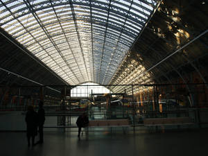 New St Pancras station