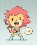 LION-O CHIBI (THUNDERCATS)