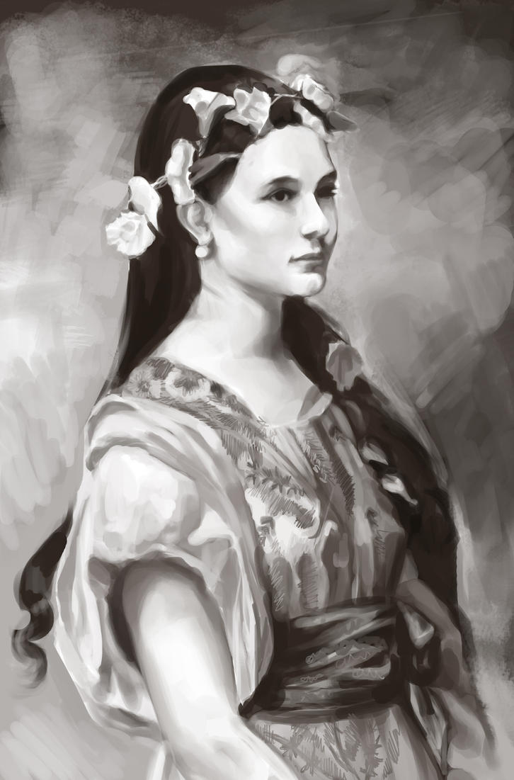 My Version of Julia Foster Ward by spshlfx