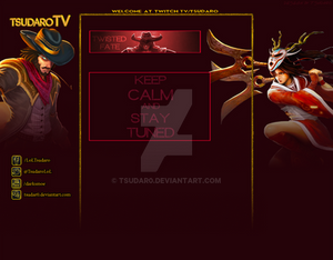 My Second Twitch.tv background for myself