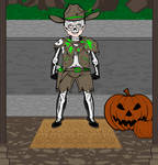 Cowboy Ghost Costume