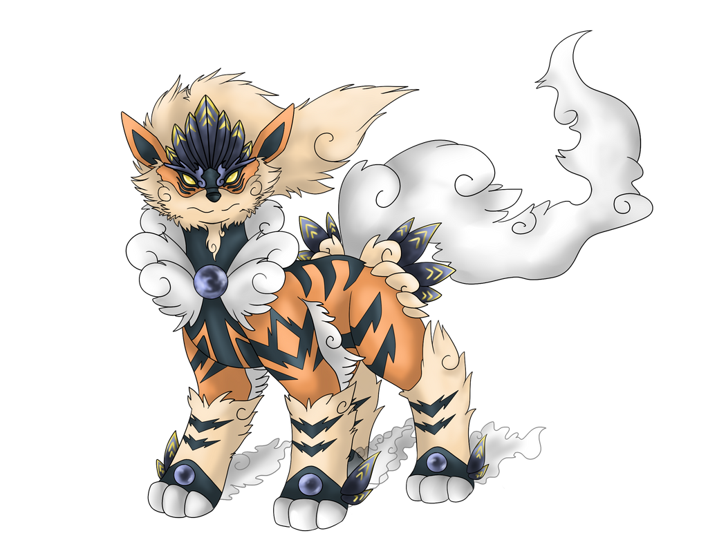 Arcanine evolution fakomon by aerisarturio on deviantart - Arcanine pics ...
