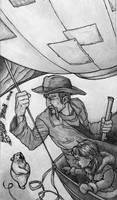 Golden Compass - Sketch