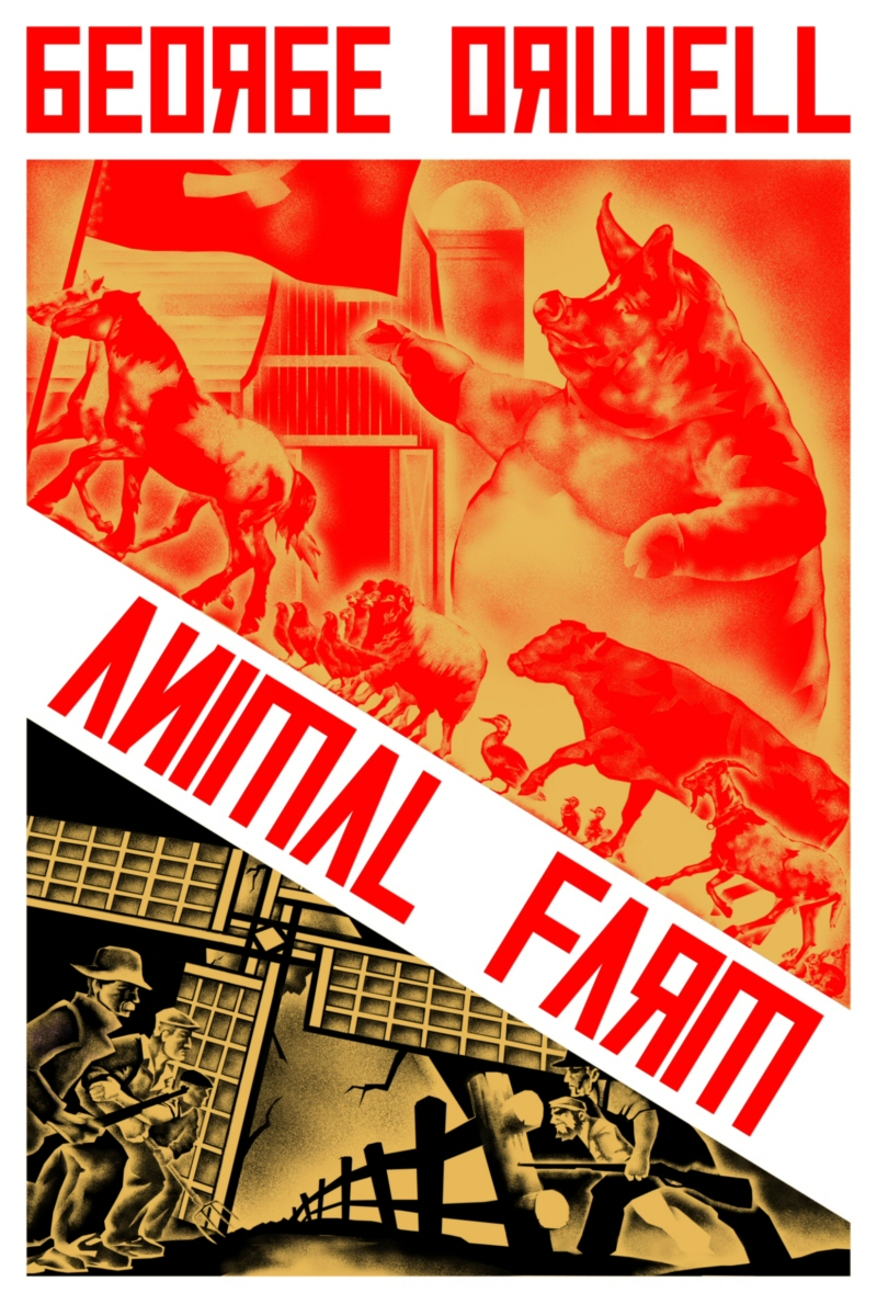 Animal Farm Cover By Thefool432 On Deviantart