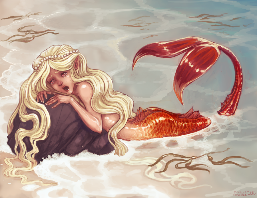 Mermaid's Cry by RobotMichelle