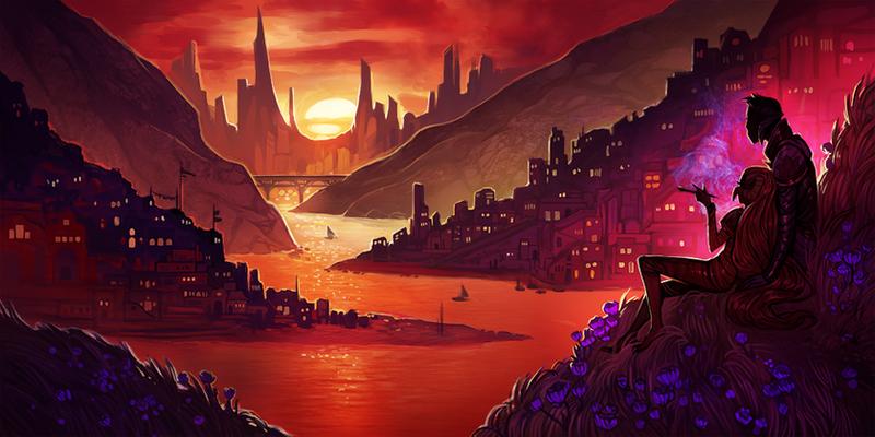 Wrathia's Planet by RobotMichelle