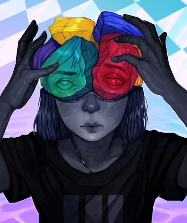 Self II by RobotMichelle