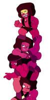 stack of rubies (+ speedpaint!)