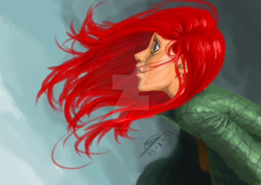 redhead by Freia-Twin