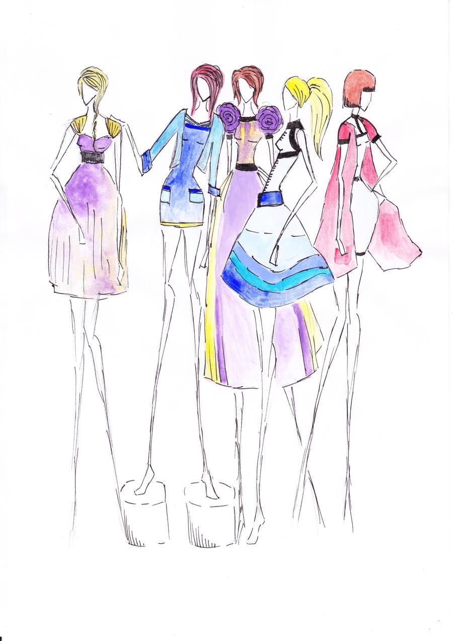 Dresses 2 by CdCblanc