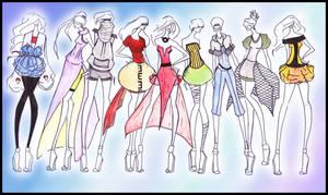 Naruto Goes Fashion by CdCblanc