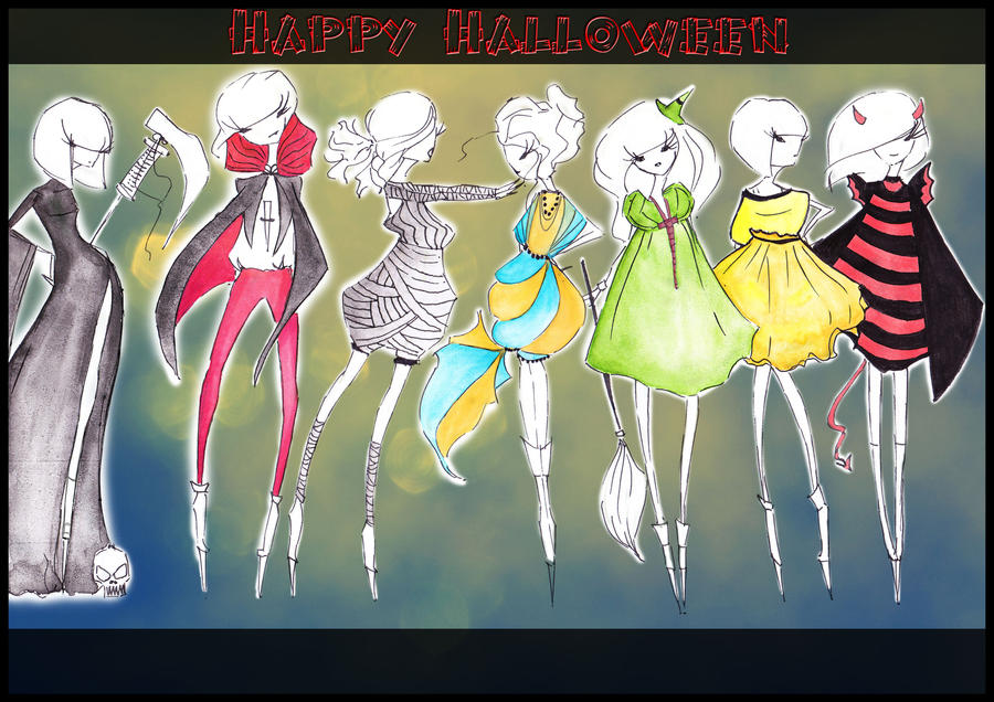 Happy Halloween by CdCblanc