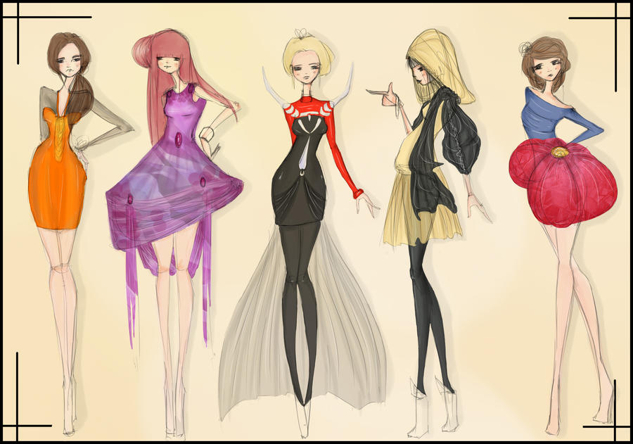 Pokemon Fashion III by CdCblanc