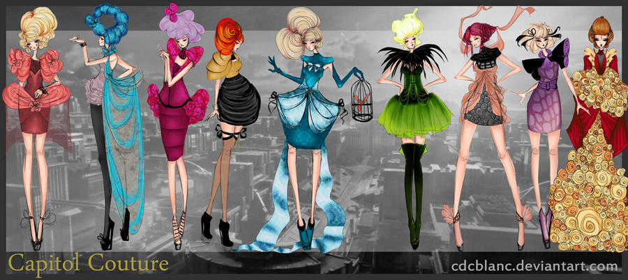 Capitol Couture By Cdcblanc On Deviantart