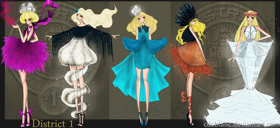 District 1 Fashion by CdCblanc