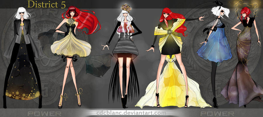 District 5 Fashion by CdCblanc