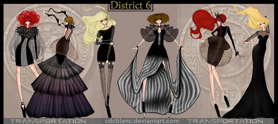 District 6 Fashion by CdCblanc