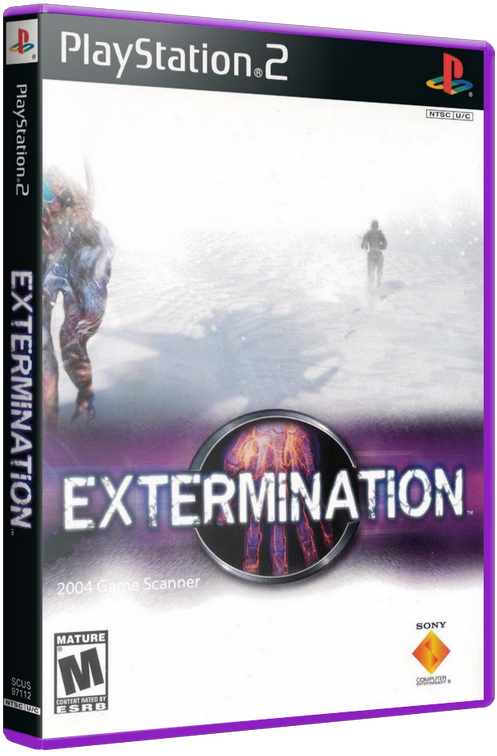 Extermination (PS2) [2001] - 3D Cover by KASTORMDM