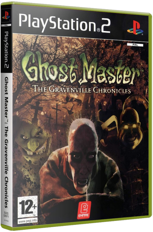 Ghost Master: The Gravenville Chronicles (PS2) by KASTORMDM