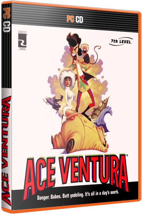 Ace Ventura (PC) [1996] - 3D Cover by KASTORMDM