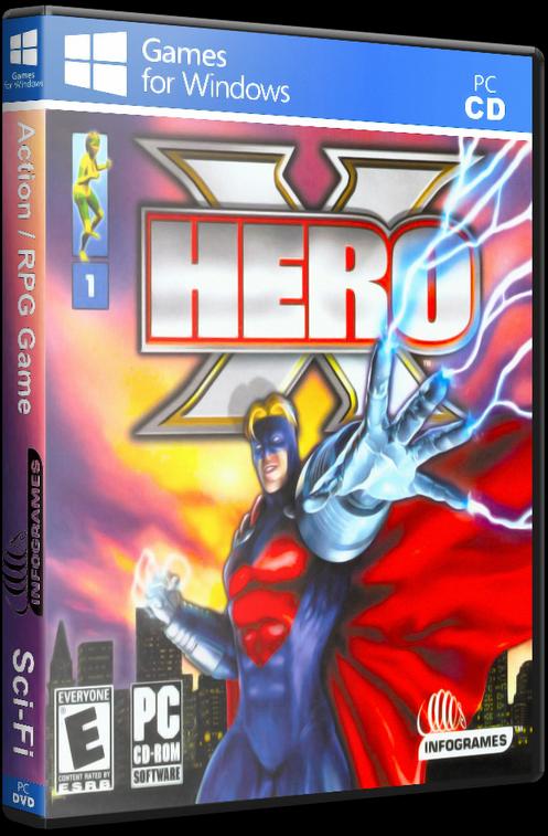 Hero X (PC) [2002] - 3D Cover by KASTORMDM