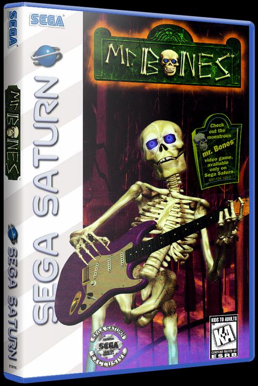 Mr. Bones (SEGA Saturn) [1996] - 3D Cover by KASTORMDM