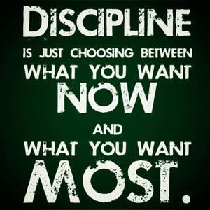 Discipline~