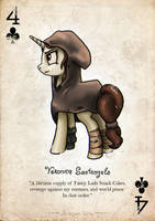 Veronica - 4 of clubs by Mozgan
