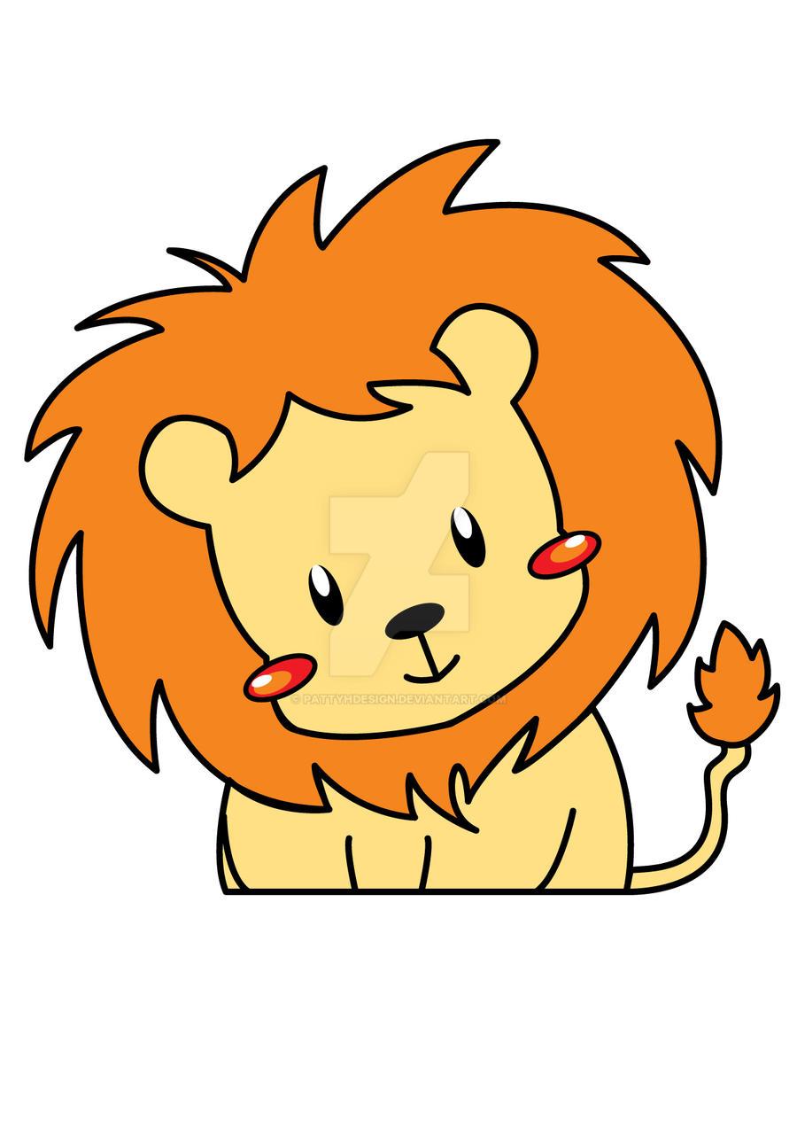 lion cartoon drawings wallpaper - photo #25