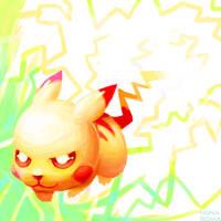 The Mouse Pokemon by HonaSoma