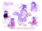 werewolf fursona ref