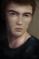 Speedpaint: Guy by aluckymuse
